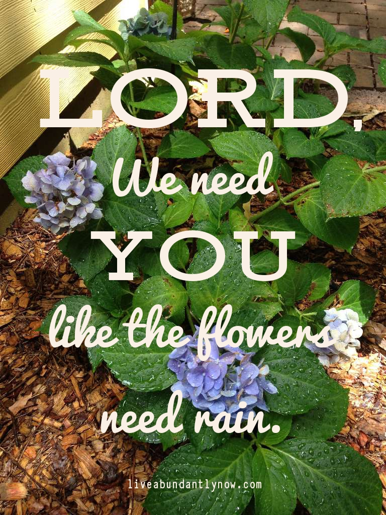 Lord, We Need You