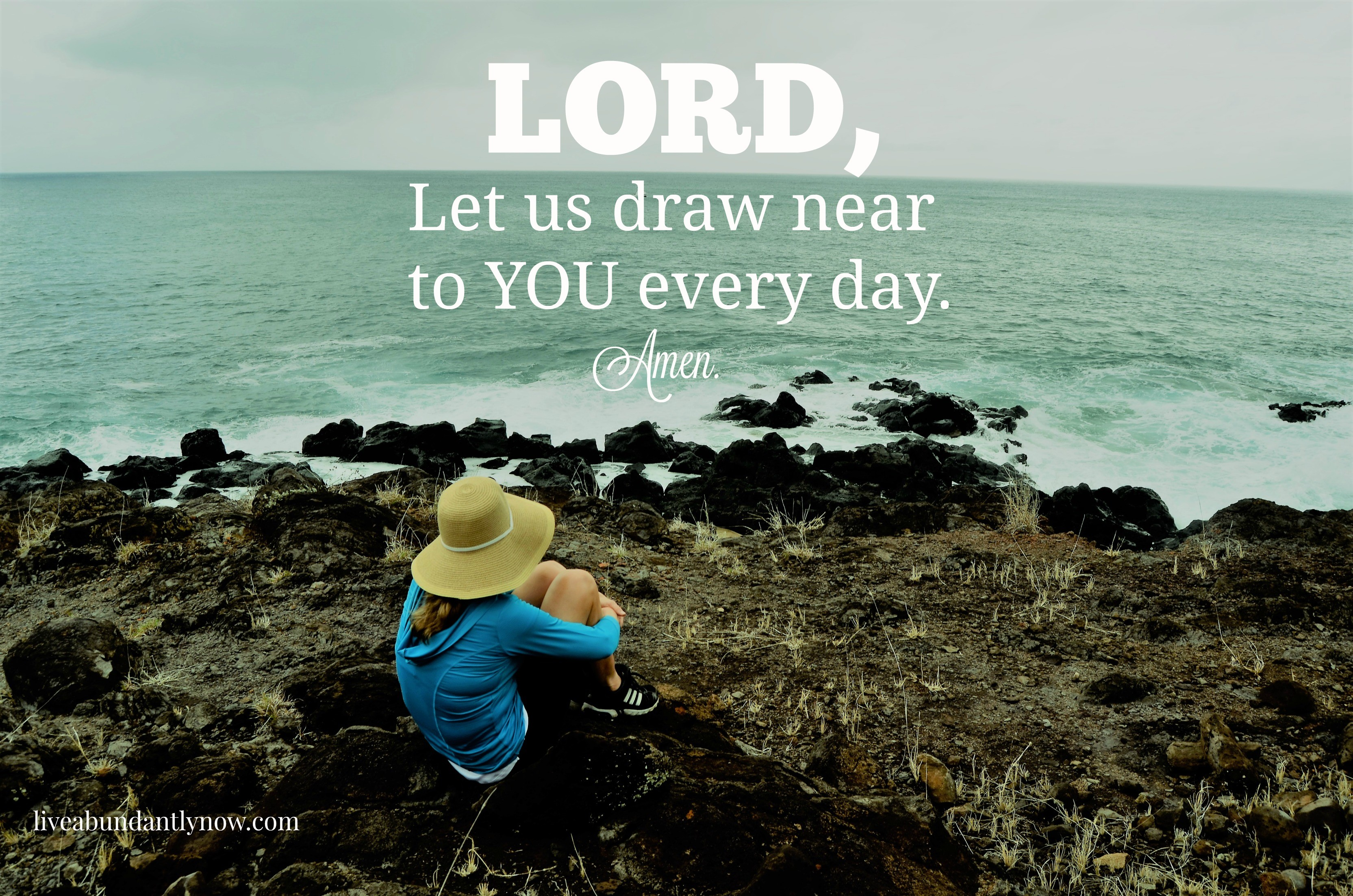 LORD, LET US DRAW NEAR TO YOU